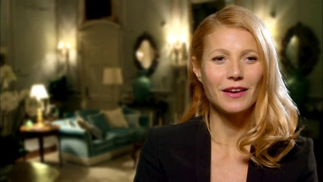 Gwyneth Paltrow - Johanna - über Johnny Depp - OV-Interview Poster