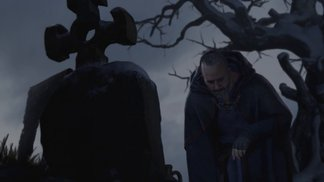Erste Spielszenen mit Zauberer, Barbar und Druide