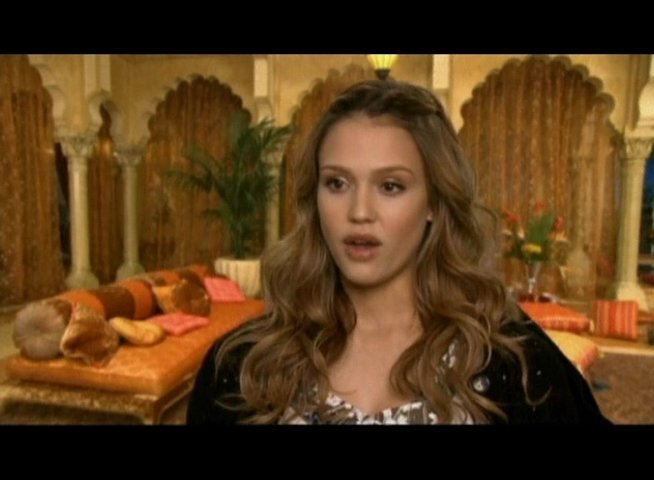 Interview mit Jessica Alba (Jane Bullard) - OV-Interview Poster