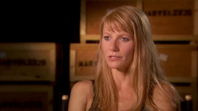 Gwyneth Paltrow - Pepper Potts - über Peppers Rolle im Film - OV-Interview Poster