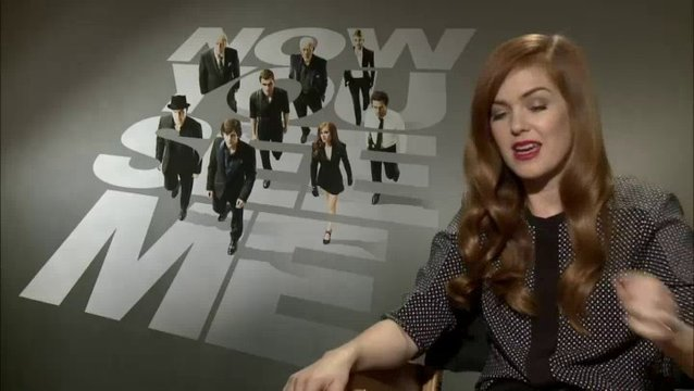 Isla Fisher - Henley Reeves - über ihre Rolle - OV-Interview Poster