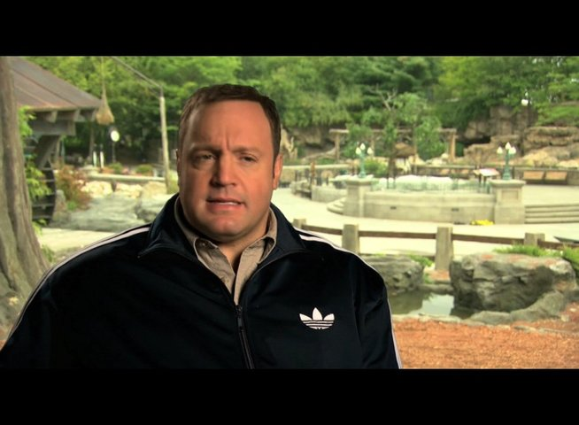 Kevin James über Griffins Job als Zoowärter - OV-Interview Poster