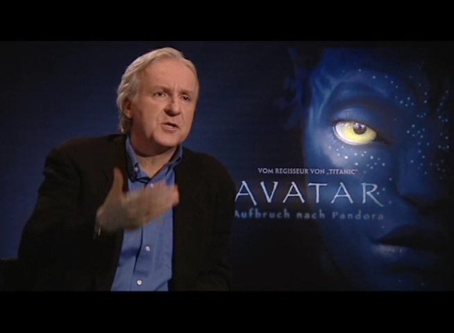 Interview mit James Cameron - OV-Interview Poster