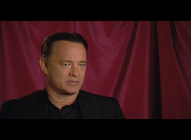 "Tom Hanks (""Robert Langdon"") über das Besondere am Film - OV-Interview Poster"