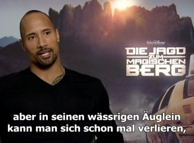 Dwayne Johnson (Jack Bruno) - Interview Poster