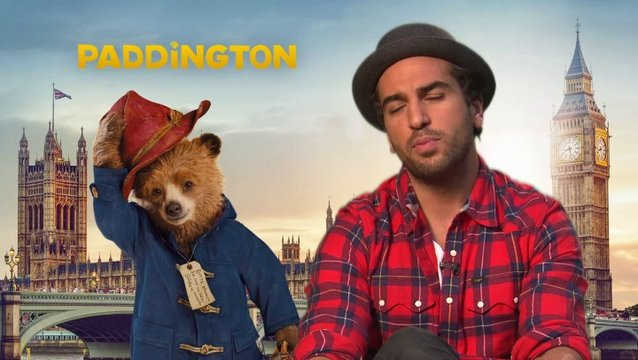 Elyas Mbarek - Stimme von Paddington - über Famile Brown - Interview Poster