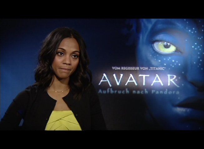 Interview mit Zoe Saldana - OV-Interview Poster