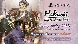 Hakuoki: Kyoto Winds - Announcement Teaser Trailer | PS Vita