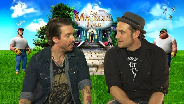Bosshoss - Mark und Mike - über den Film - Interview Poster
