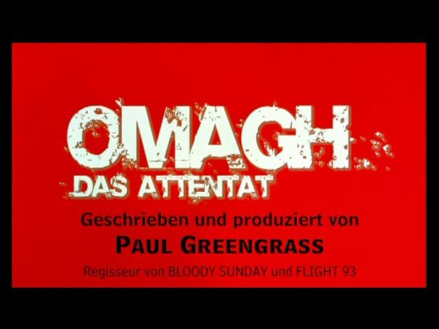 Omagh - Trailer Poster