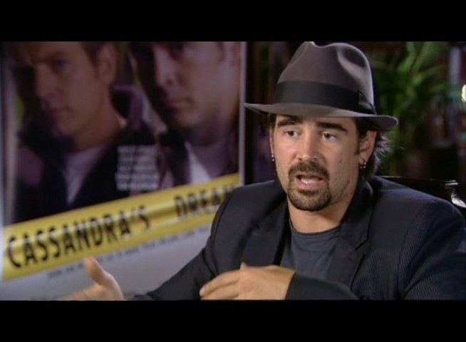 Interview mit Colin Farrell (Terry) - OV-Interview Poster