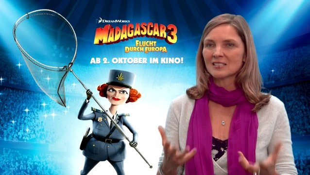 Susanne Pätzold - Chantal DuBois - was ihr an MADAGASCAR 3 so gefällt - Interview Poster