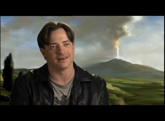 Interview mit Brendan Fraser (Trevor Anderson) - OV-Interview Poster