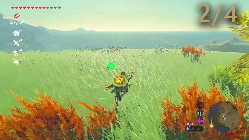 Kletterausrüstung Zelda Breath Of The Wild : Zelda u breath of the wild feen finden und rüstung verbessern