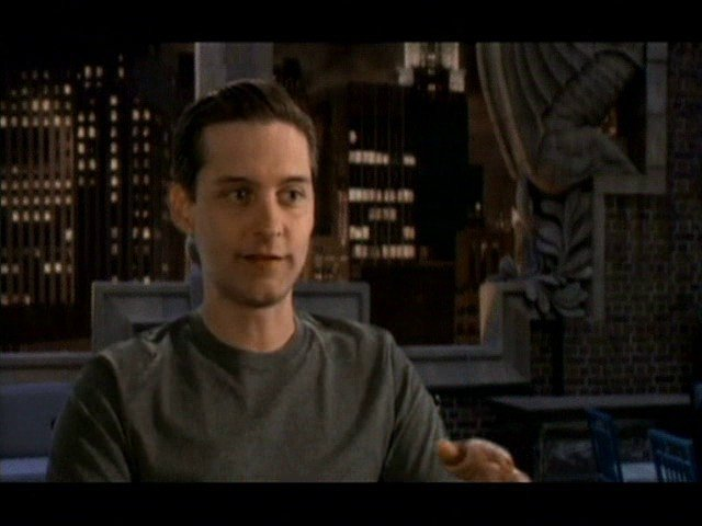 Interview mit Tobey Maguire - ''Peter Parker / Spider-Man'' - OV-Interview Poster