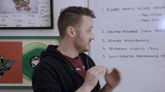 Entwickler-Update zum Launch