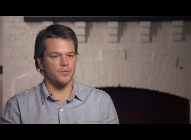 Matt Damon (La Boeuf) über Jeff Bridges - OV-Interview Poster