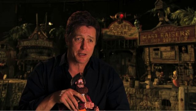 Hugh Grant über die Feinde des Piratenkapitaens - OV-Interview Poster