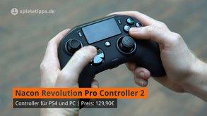 Vergleich Nacon Revolution Pro Controller 2 und Xbox One Elite Controller