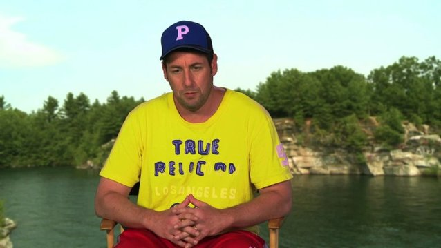 Adam Sandler über den Film - OV-Interview Poster