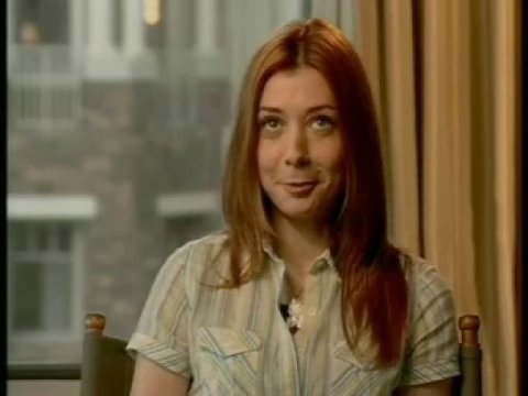 Alyson Hannigan (Michelle Flaherty) - Interview Poster