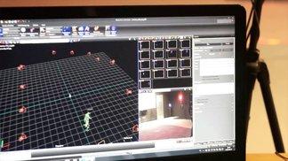 motion capture session