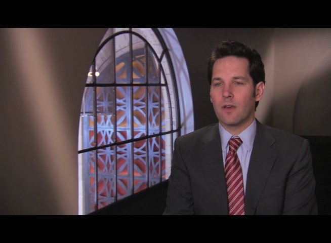 Paul Rudd über seine Rolle - OV-Interview Poster