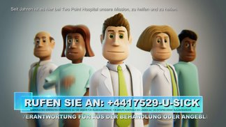 Two Point Hospital - Ankündigungs-Trailer 2018