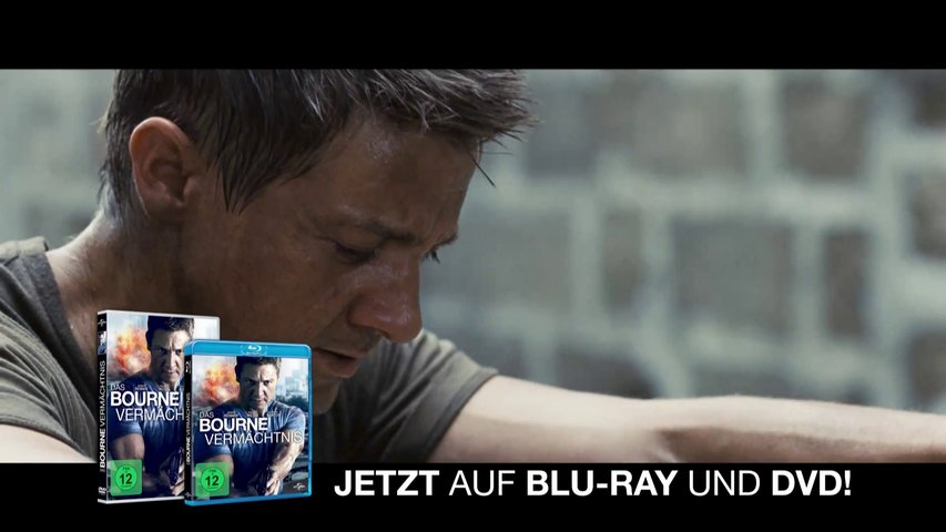 Das Bourne Vermächtnis (BluRay-/DVD-Trailer) Poster