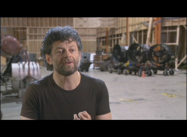 Andy Serkis (Caesar) über Will Rodman - OV-Interview Poster