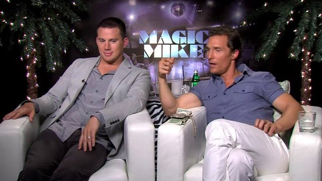 Channing Tatum und Matthew Mc Conaughey Teil 1 - OV-Interview Poster