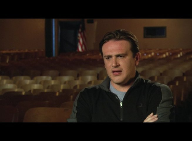Jason Segel über den Regisseur - OV-Interview Poster