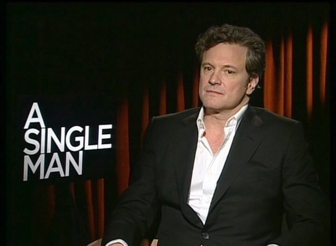 Colin Firth / GEORGE / über den Regisseur Tom Ford - OV-Interview Poster