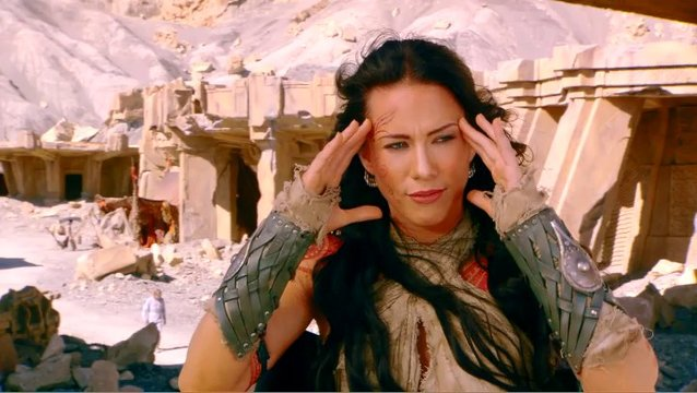 LYNN COLLINS - Dejah Thoris über das visuelle Spektakel - OV-Interview Poster