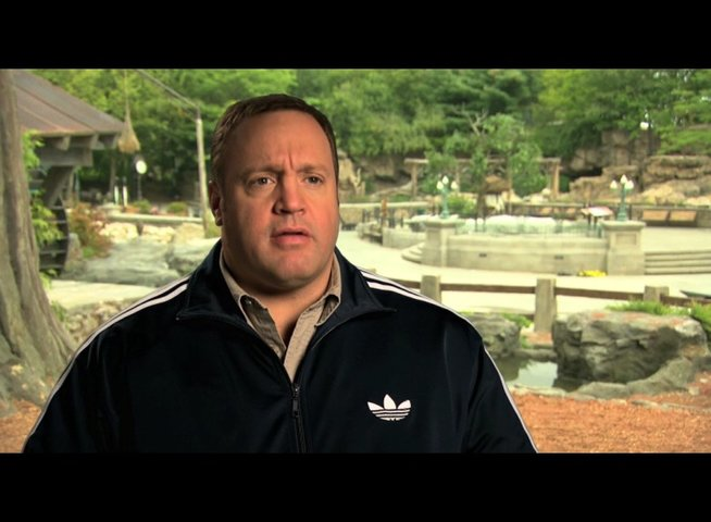 Kevin James über die Tiere am Set - OV-Interview Poster