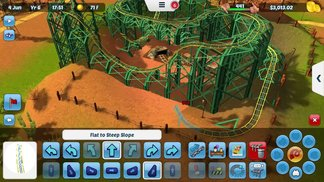 Rollercoaster Tycoon 3 - iOS-Trailer