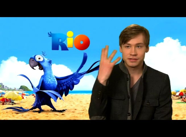 David Kross über Blu 1 - Interview Poster