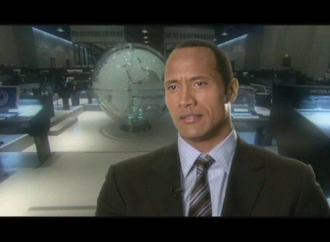 Interview mit Dwayne Johnson (Agent 23) - OV-Interview Poster