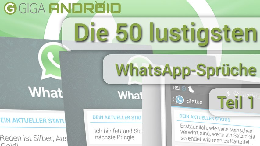 Whatsapp Stati Teil 1