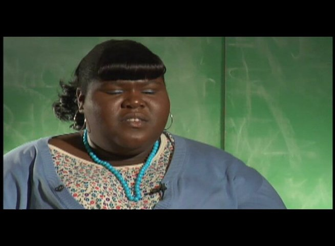 "GABOUREY SIDIBE - ""Precious"" - über die Message des Films - OV-Interview Poster"
