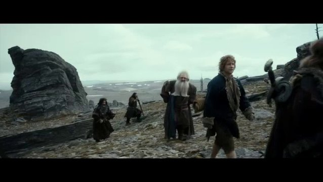 Der Hobbit- Smaugs Einöde Extended Edition (Vod-/BluRay-Trailer) Poster