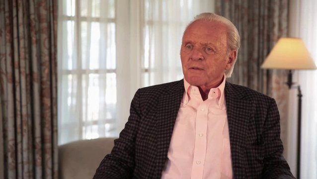 Anthony Hopkins - Methuselah - über den Dreh in Island - OV-Interview Poster