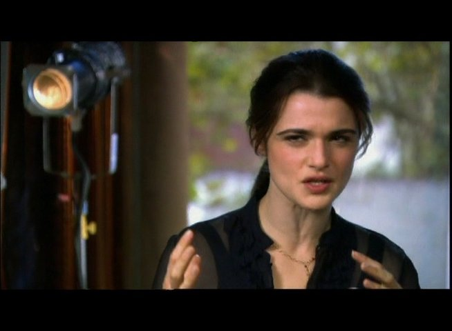 Interview mit Rachel Weisz (Summer Hartley) - OV-Interview Poster