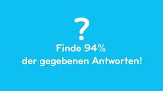 94 Prozent: Ein Thema oder ein Bild, du musst 94% der gegebenen Antworten finden!