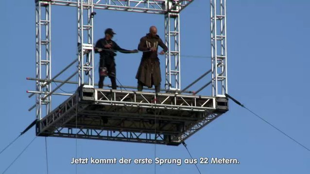 Leap of Faith - Der Stunt - Featurette Poster