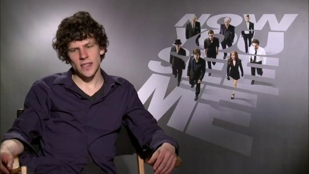 Jesse Eisenberg - J Daniel Atlas - über The Four Horsemen - OV-Interview Poster