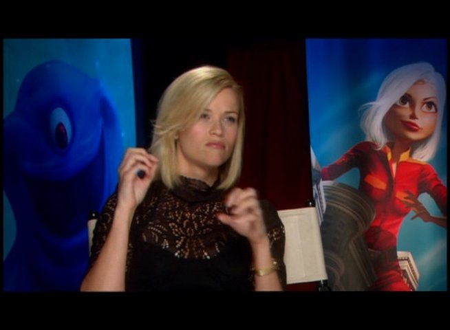 Reese Witherspoon / über MONSTERS vs ALIENS als 3D-Spass - OV-Interview Poster