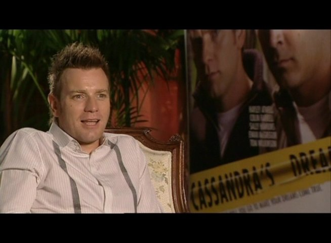Interview mit Ewan McGregor (Ian) - OV-Interview Poster