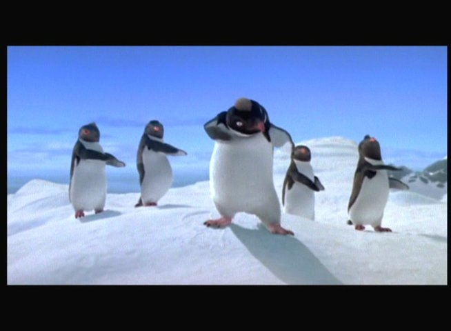 Happy Feet - Trailer Poster