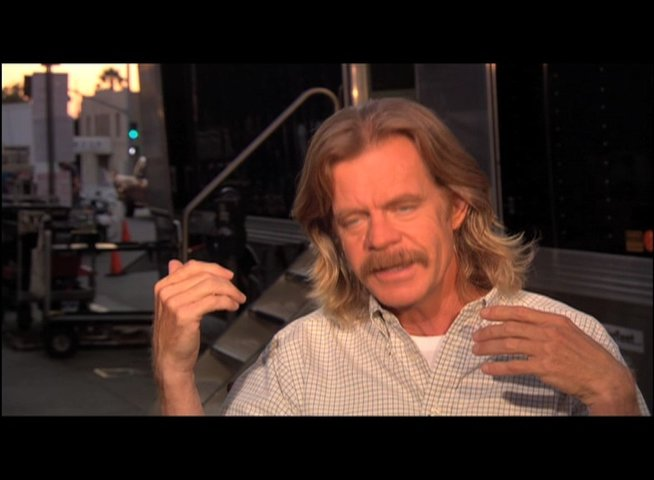William H Macy über den Film - OV-Interview Poster